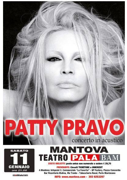 Concerto Patty Pravo Mantova 2014