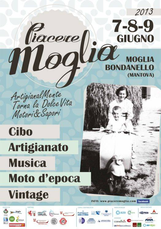 Piacere Moglia 2013