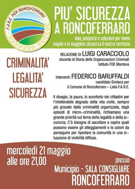 Più sicurezza a Roncoferraro (Mantova)