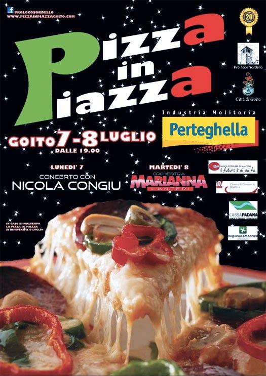 Pizza in Piazza Goito 2014