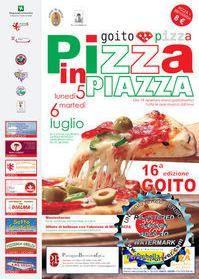 Pizza in Piazza 2010 a Goito (Mantova)