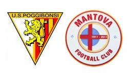 Poggibonsi - Mantova 1-0, calcio Lega Pro