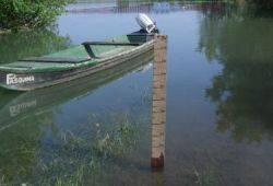 Ponte Barche Torre d'Oglio inondato