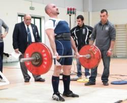 Carlo Colapinto, Campionato Italiano Powerlifting