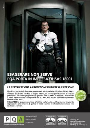 PQA Certificazione OHSAS 18001 Mantova