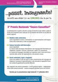Premio Cesare Cancellieri 2012 Mantova