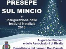 Presepe galleggiante Rivalta sul Mincio (Mantova)