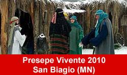 Presepe Vivente 2010 San Biagio (Mantova)