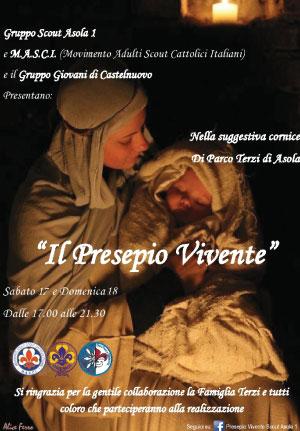 Presepio Vivente 2016 Asola (Mantova)