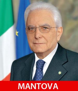 Presidente Repubblica Sergio Mattarella a Mantova 11 novembre 2016