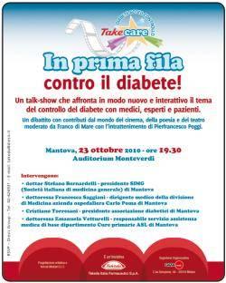 In prima fila contro il diabete Mantova