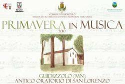 Primavera in Musica 2010 a Guidizzolo