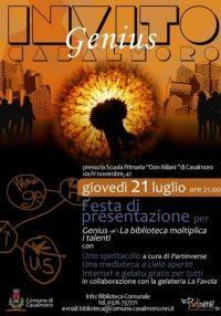 Presentazione progetto Genius a Casalmoro (Mantova)