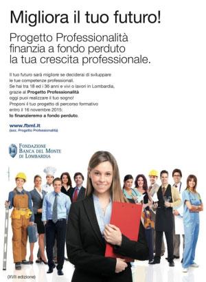 Progetto Professionalità 2015 2016 giovani Mantova Lombardia