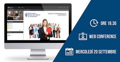 Progetto Professionalità 2017 2018 web conference