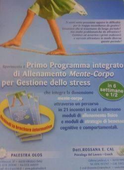 programma allenamento mente corpo gestione stress Mantova