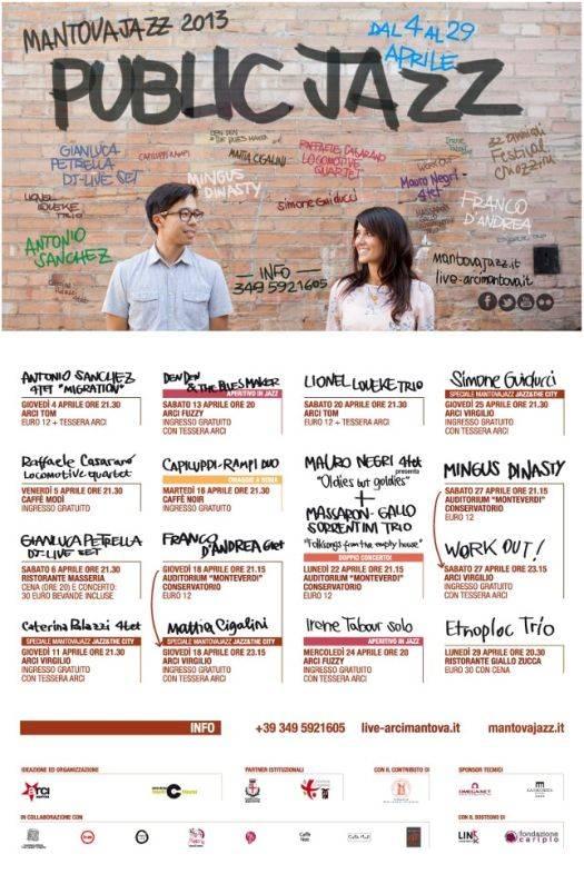 Programma Mantova Jazz 2013
