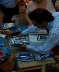 Distribuzione Programma Festivaletteratura 2009
