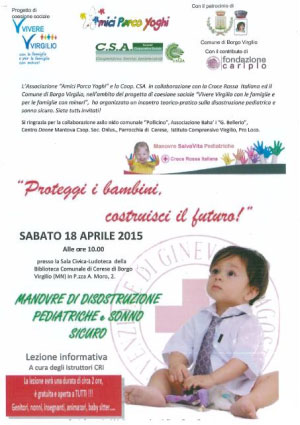 proteggi bambini costruisci futuro Cerese (Mantova)