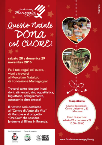 Questo Natale dona col cuore Mantova Spazio Bernardelli