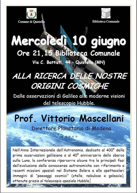 Quistello Incontro Mascellani