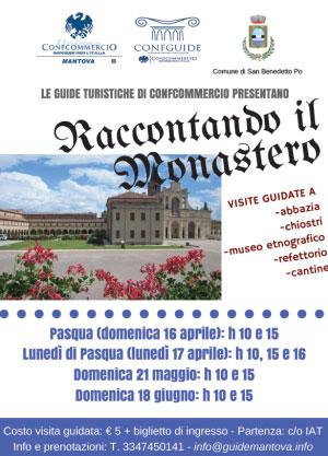Raccontando il Monastero San Benedetto Po 2017
