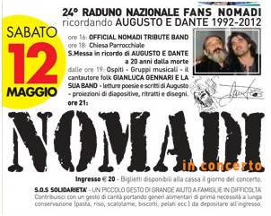 Raduno Fan Nomadi 2012 Casalromano (Mantova)