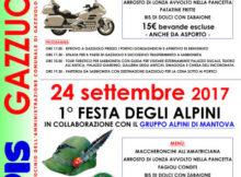 Raduno Gold Wing e Festa Alpini 2017 Gazzuolo (Mantova)