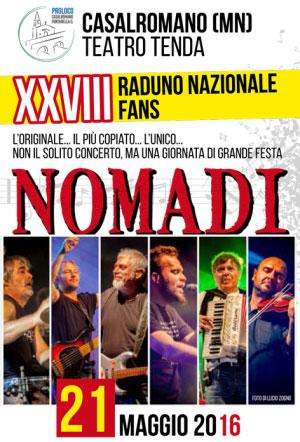 Raduno Nomadi Casalromano 2016
