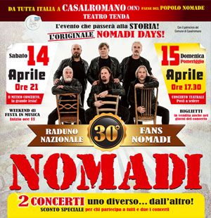Raduno Nomadi Casalromano (Mantova) 2018