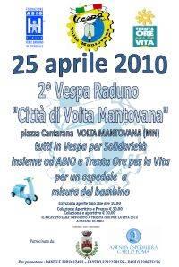 Raduno Vespa Club Volta Mantovana 25-04-2010