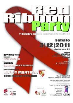 Red Ribbon Party, Arci Virgilio Mantova - Giornata Mondiale Contro l'Aids