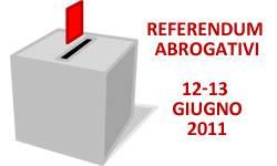 Referendum 2011 Nucleare Acqua Libero Impedimento
