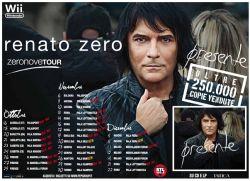 Concerto Renato Zero Mantova, Zeronovetour