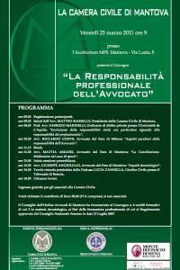 Responsabilità Professionale Avvocato Mantova