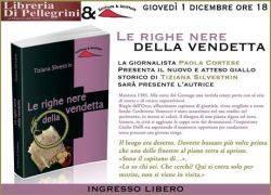Le righe nere della vendetta di Tiziana Silvestrin, libro