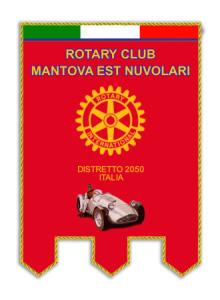 logo Rotary Club Mantova Est Nuvolari