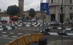 Rotatoria Piazza Martiri Belfiore Mantova