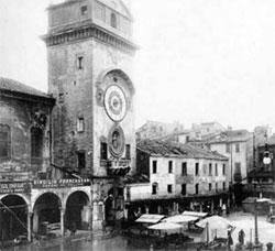 Mantova Rotonda San Lorenzo inglobata nelle case