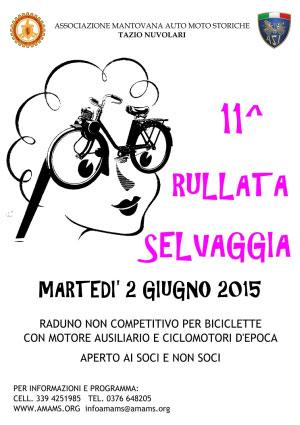 Rullata Selvaggia 2015 Romanore (Mantova)