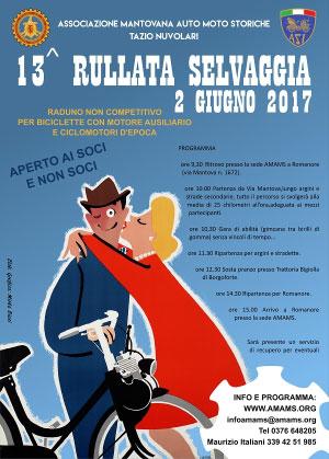 Rullata Selvaggia 2017 Romanore Mantova