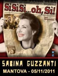 Sabina Guzzanti Mantova 2011