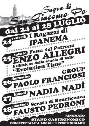 Sagra di San Giacomo Po 2015
