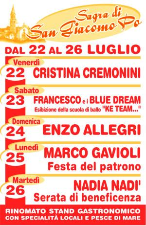 Sagra San Giacomo Po Mantova 2016