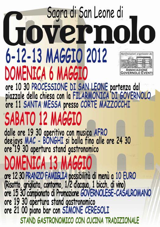 Sagra 2012 San Leone di Governolo (Mantova)