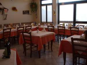 sala ristorante Agriturismo Nuvolino di Monzambano (MN)