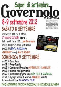Sapori di Settembre 2012 Governolo (Mantova)