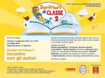 Scrittori di Classe 2 Mantova 2015