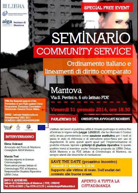 Seminario Community Service Mantova