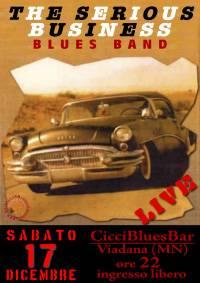 Serious Business Blues Band Viadana Mantova